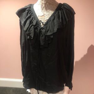 Silk vintage top